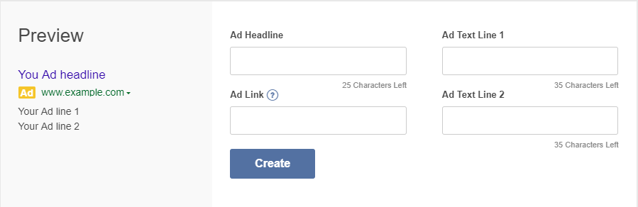 creating multiple ads