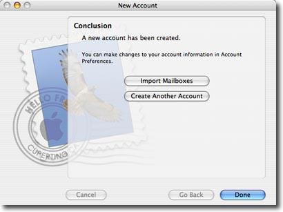 mac os mail setup step 9
