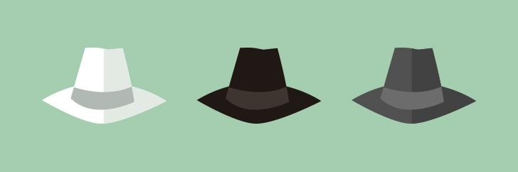 Introducing white hat, black hat, and grey hat SEO